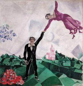 Marc Chagall, Promenade, 1917–18.